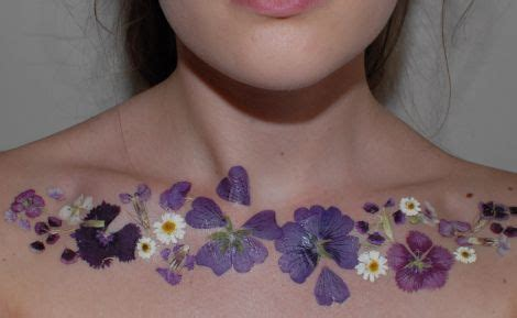 How to make a temporary floral tattoo that looks… real